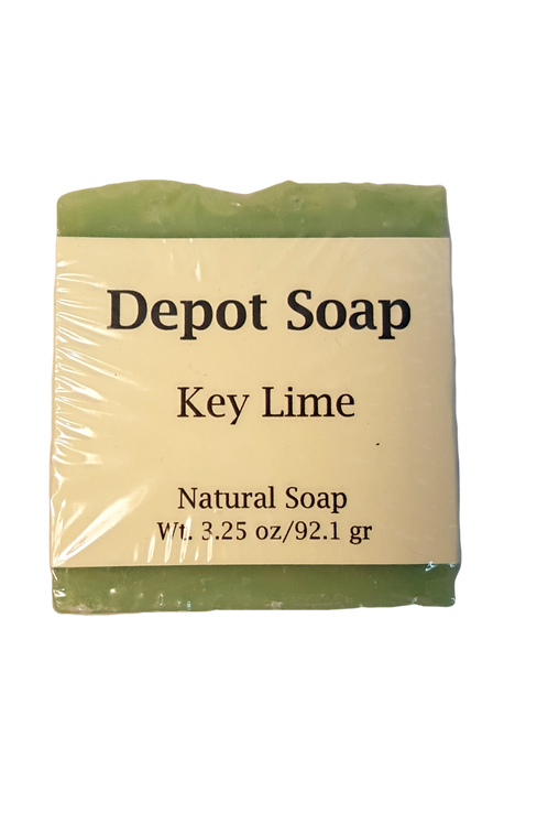 Natural Soap - Key Lime