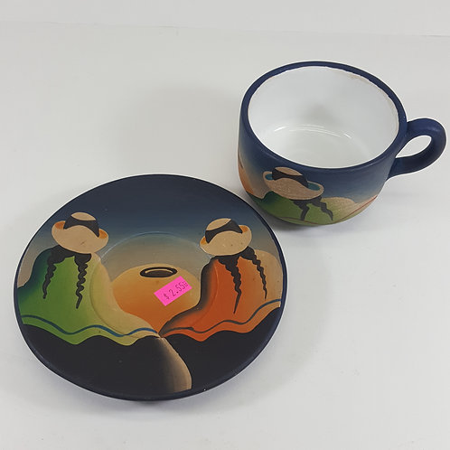 Southwestern Cup & Saucer