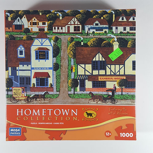 """Hometown Collection 1000 pc Puzzle - """"Main Street Cambria"""""""