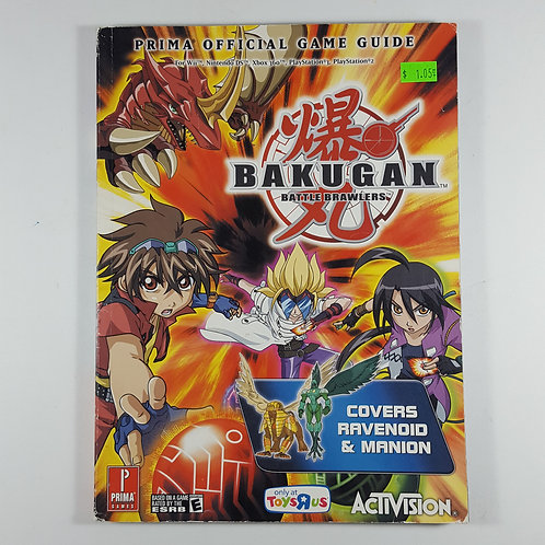 Bakugan Official Guide