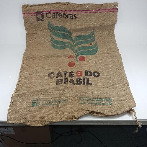 Cafebras Brazilian Coffee Burlap Sack