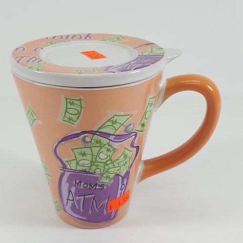 Mom's ATM Mug & Lid