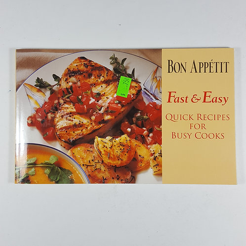 Bon Appetit - Fast & Easy