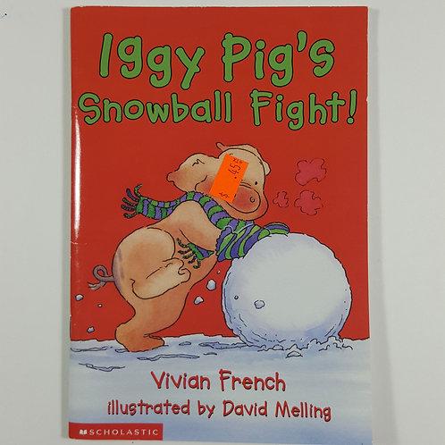 Iggy Pig's Snowball Fight