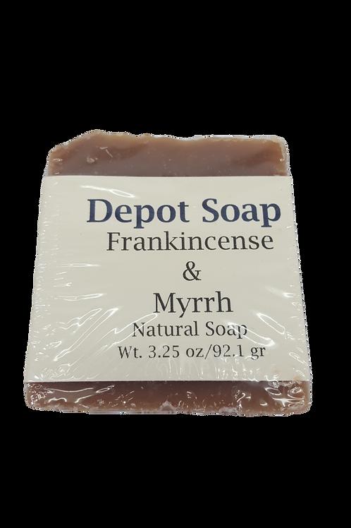 Natural Soap - Frankincense & Myrrh