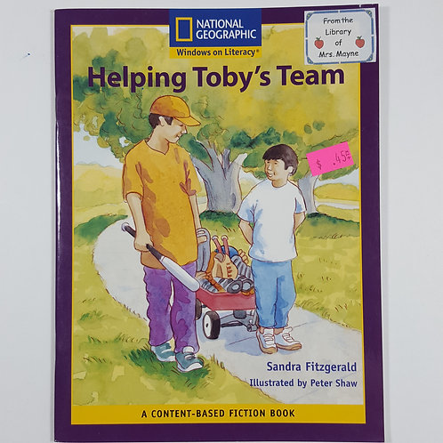 Helping Toby's Team