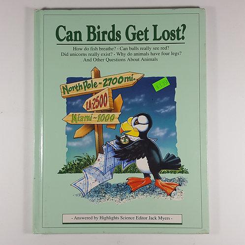 Can Birds Get Lost?