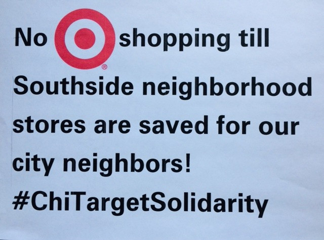 Take a Target Solidarity Stand!