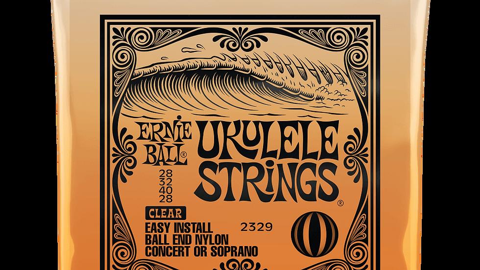 Ernie Ball Ukulele Strings Clear
