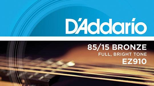 D'Addario EZ 910 011-052 Acoustic Guitar Strings