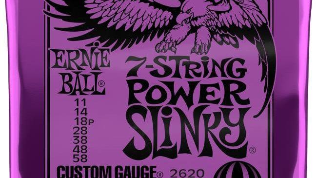 Ernie Ball 2620 Power Slinky 7-string .011- .058