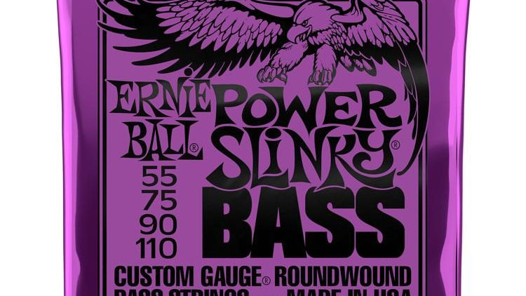 Ernie Ball 2831 Power Slinky Bass Strings - .055-.110