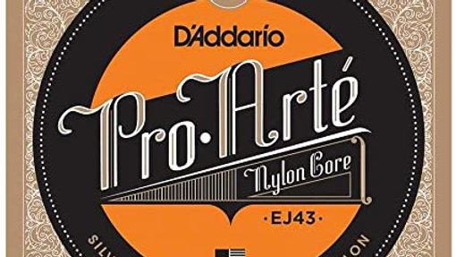 D'Addario EJ43 Pro-Arté Nylon  Light Tension