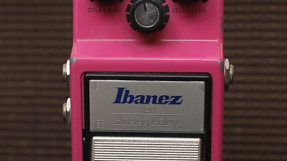Ibanez AD9 analog Delay 1982 Pink