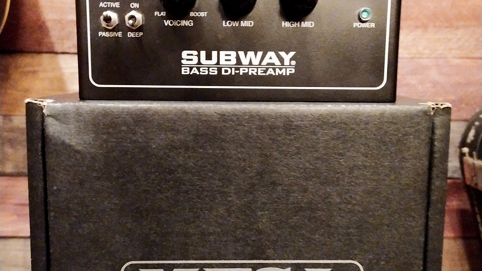 Mesa Boogie Subway Bass Preamp D.I. (USED)
