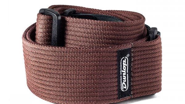 Dunlop D07-01BR Poly Brown Strap