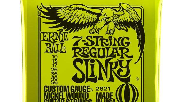 Ernie Ball 2621 Regular Slinky 7-string .010- .056