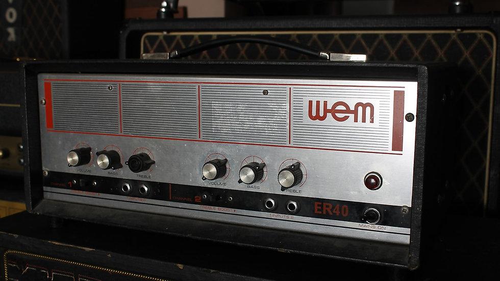 WEM ER40 Head