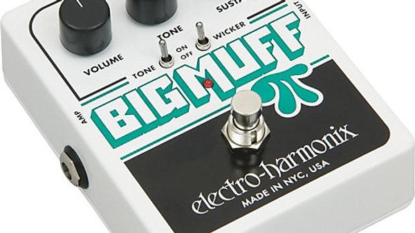 Electro-Harmonix Big Muff Pi with Tone Wicker Fuzz Pedal