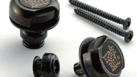 Ernie Ball Strap Locks Black BK 4601