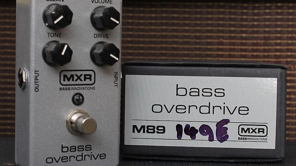 MXR Bass Overdrive *B Stock*