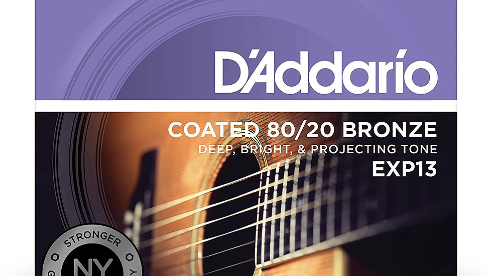 D'Addario EXP13 11-52 Acoustic Guitar Strings