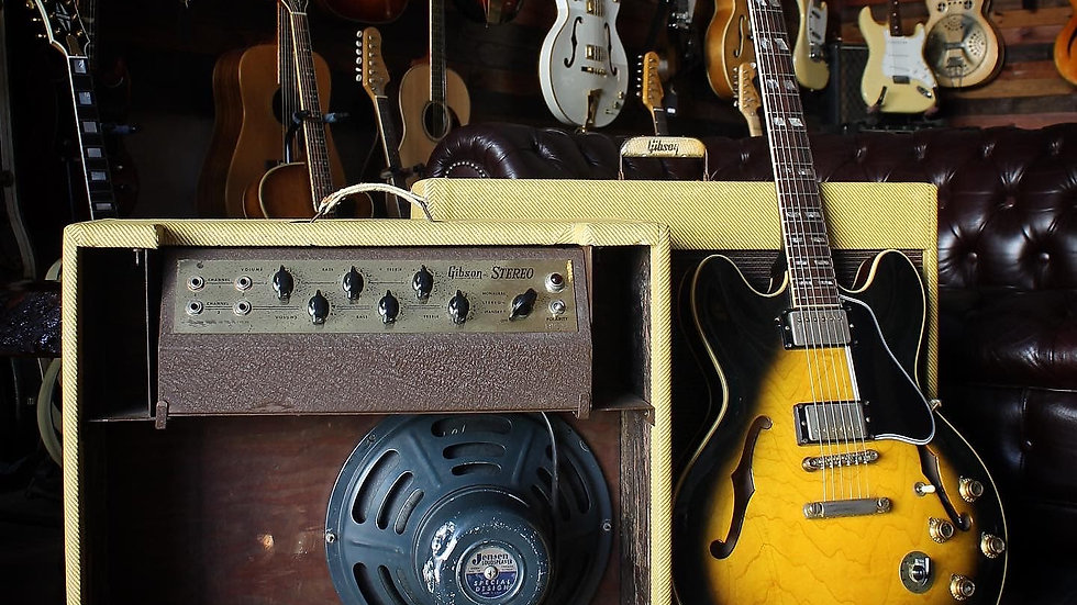 Gibson GA88 Stereo Amplifier 1960 Tweed