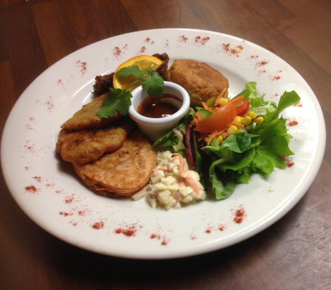 caribbean mixed platter