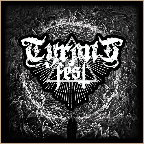 TYRANT FEST / PATCH Classic Logo