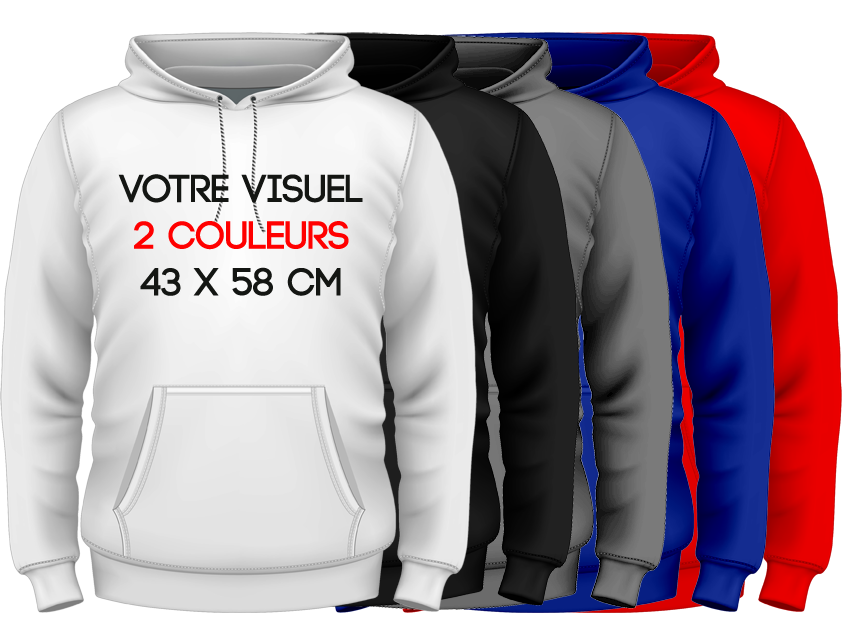 HOODIES - 2 couleurs