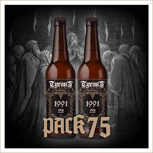 TYRANT BREWERY - 1991 Pack 2 x 75 cl + 2 Gobelets