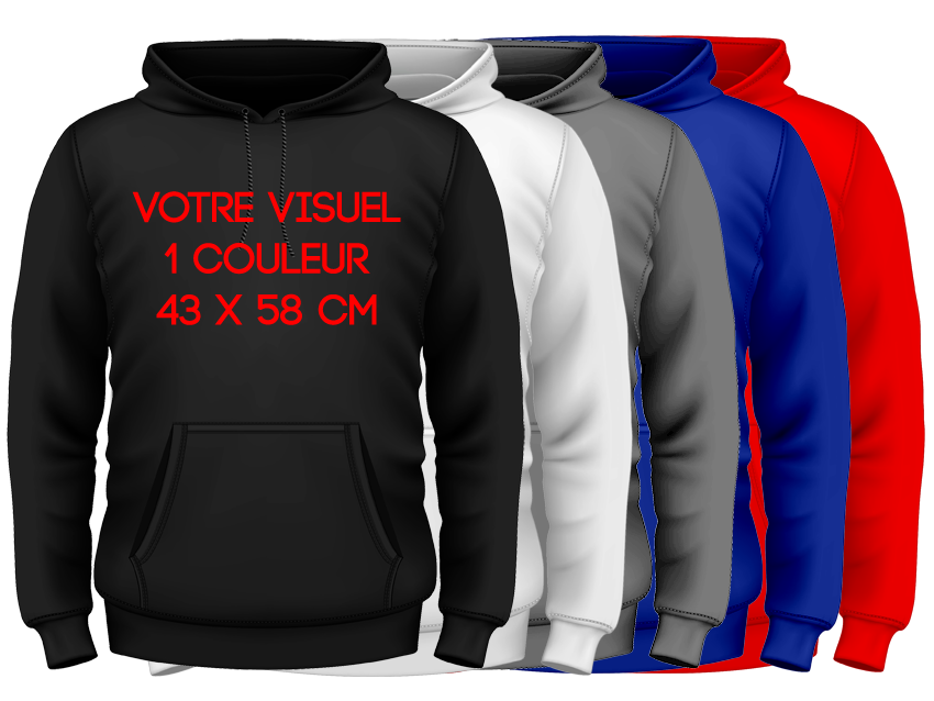 HOODIES - 1 couleur