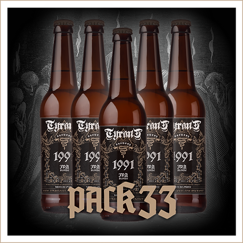 TYRANT BREWERY - 1991 Pack 6 x 33 cl + 2 Gobelets