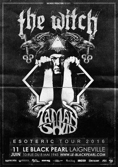 The Witch + Taman Shud Affiche Black Pea