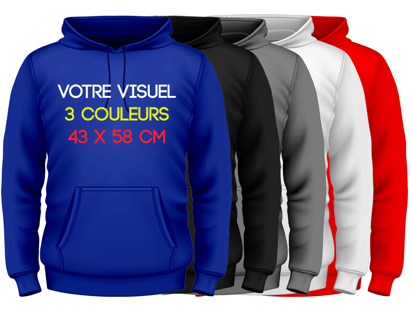 HOODIES - 3 couleurs