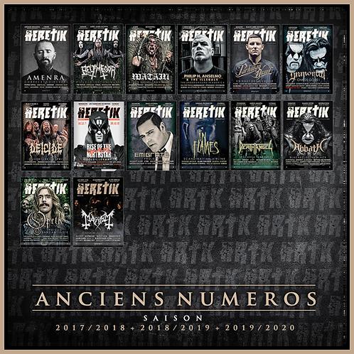 ANCIENS NUMEROS / SAISONS 1 - 2 - 3