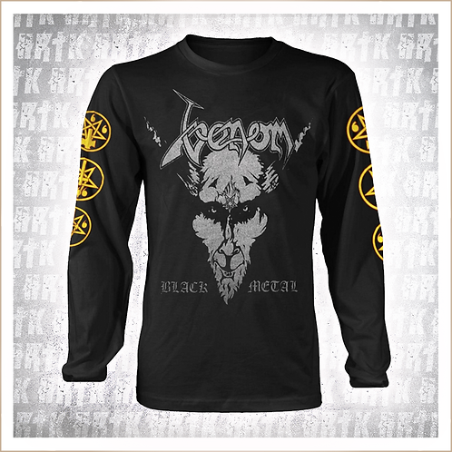 VENOM - Black Metal LS