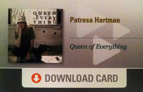 Queen of Everything - DOWNLOAD CARD