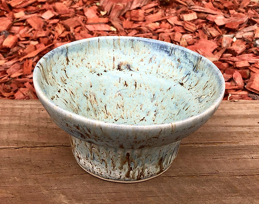 Lovely Small Light Blue Trinket Dish/Bowl - only 1 available