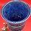 Thumbnail: Blue Vase with Ribbon Trim - Only one available