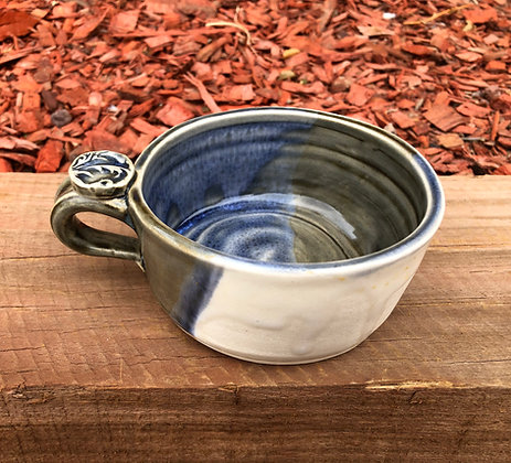 Stoneware Soup Mug - only 1 available