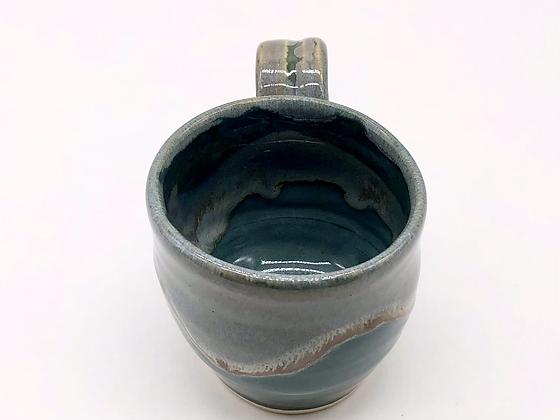 Sea Green Stoneware Mug