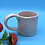 Thumbnail: Pale Matte Pink Embossed Mug - Only 1 available