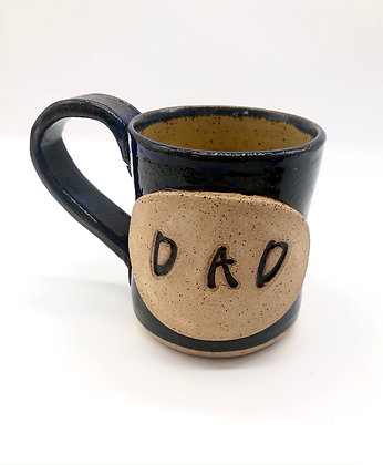 Rustic Speckled Stoneware 'Dad' Mug - only 1 available