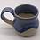 Thumbnail: Blue and Cream Mug