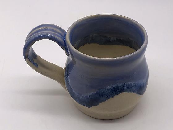 Blue and Cream Mug