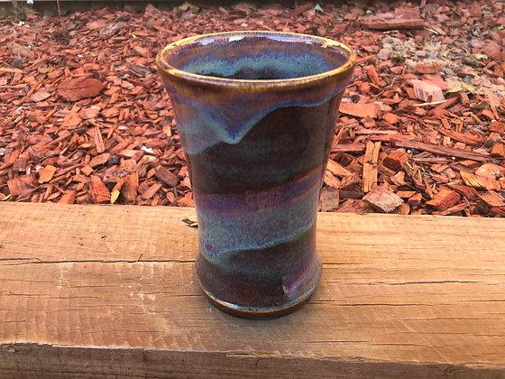 Large Swirly Stoneware Vase - only one available