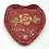 Thumbnail: Hand-Formed, Hand-Painted Heart Dish - only 1 available