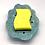 Thumbnail: Light Blue Hand-Formed Porcelain Soap Dish/Sponge Holder