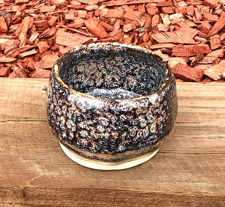 """Small """"SnakeSkin"""" Hand-Formed Bowl - only 1 available"""